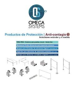 Herrajes para Mamparas y Tirador de Pie para Puertas - Omega Systems