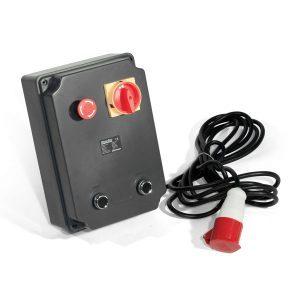 Central Electrónica Trifásica con Botones de Cierre y Apertura Separados MC400