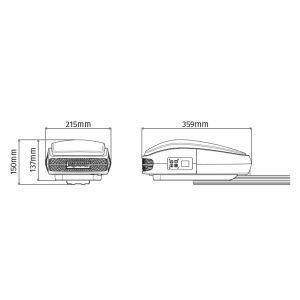 Motor para Puertas Seccionales ROSSO EVO 100 medidas