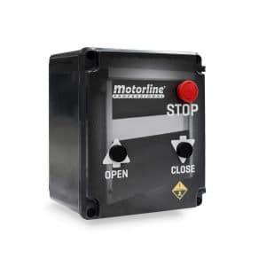 Central Electrónica con Botones para Puertas Rápidas de PVC MC112