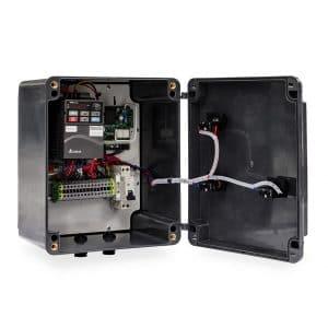 Central Electrónica con Botones para Puertas Rápidas de PVC MC112 detalle interior