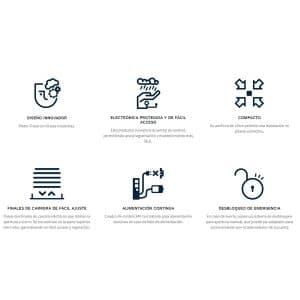 Motor para Puertas Abatibles en KIT TELICA especificaciones