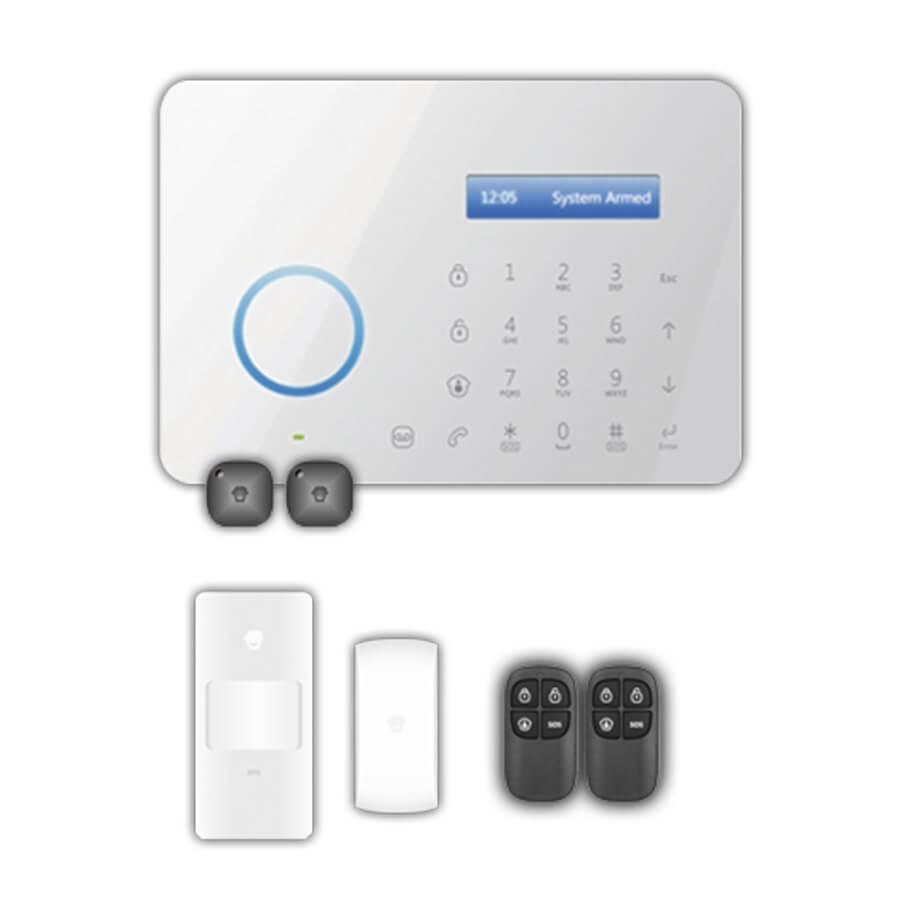 PRO09000 Kit Alarma Modulo GSM PSTN B11 detector PIR Antimascotas 01