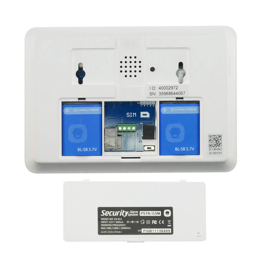 PRO09000 Kit Alarma Modulo GSM PSTN B11 detector PIR Antimascotas 03