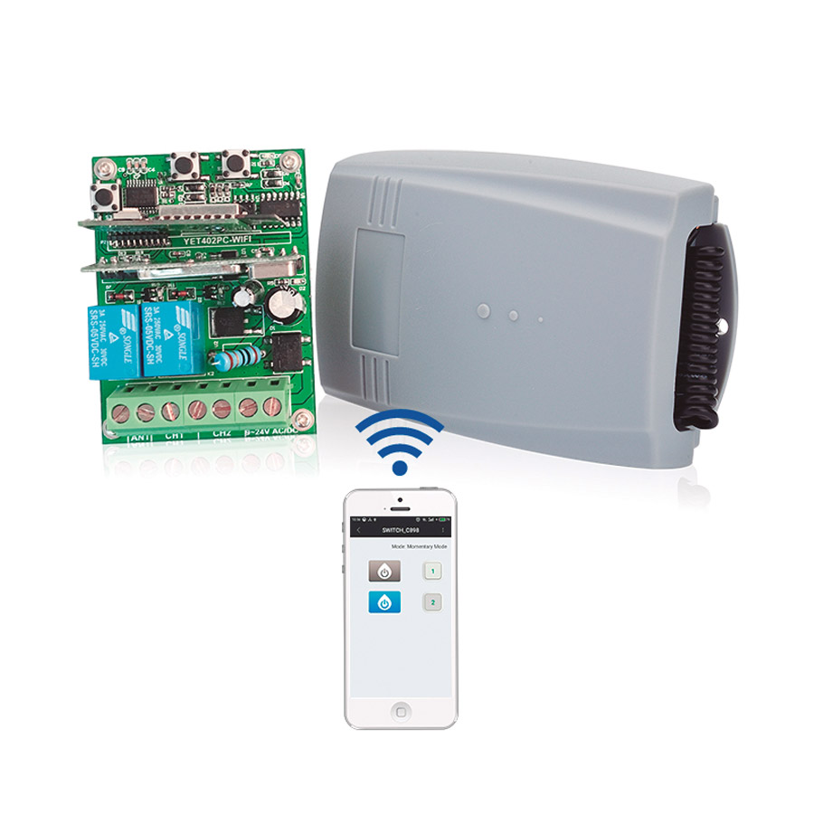 PRO09187 receptor wifi inalambrico 2 canales