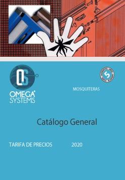 Catálogo General de Mosquiteras 2020 Omega Systems