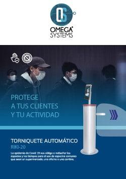 Control de Acceso con Sensor de Temperatura - Omega Systems