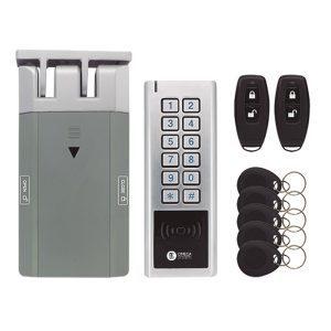 Cerradura Electrónica Invisible con Teclado y 4 Mandos