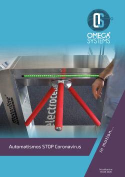 Promoción Automatismos Stop Coronavirus