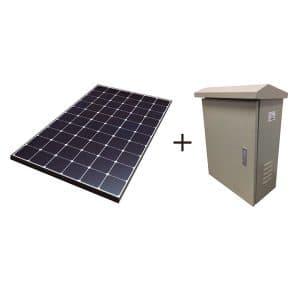 Panel Solar con Regulador y Tarjeta Electrónica KIT SOLAR