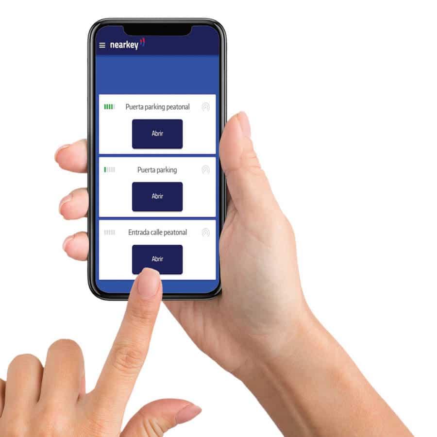 Control de Acceso a Distancia por Bluetooth Pack de 10 Mandos Virtuales para BT01