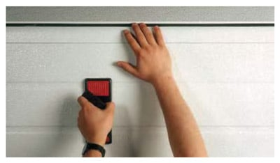 anti aplastamiento para puertas seccionales