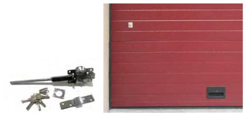 cerramiento lateral para puertas seccionales