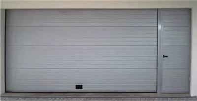 puerta peatonal lateral para puertas seccionales de garaje