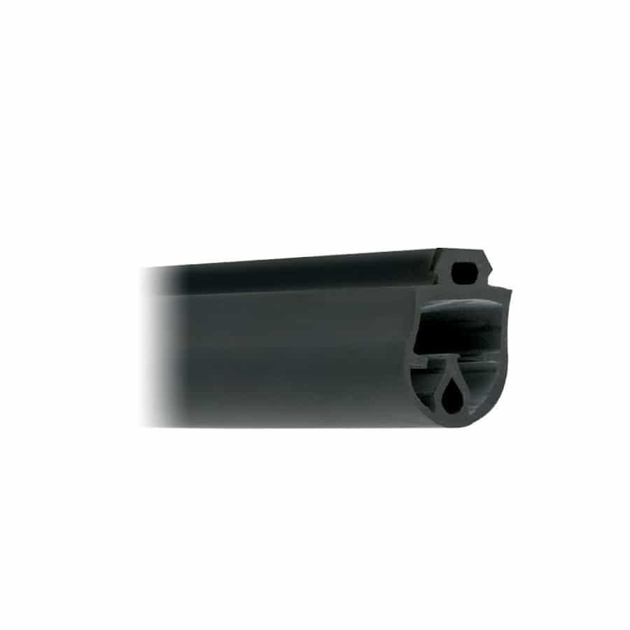 Goma Pasiva de 25 x 25 mm. Paragolpes para puertas basculantes.
