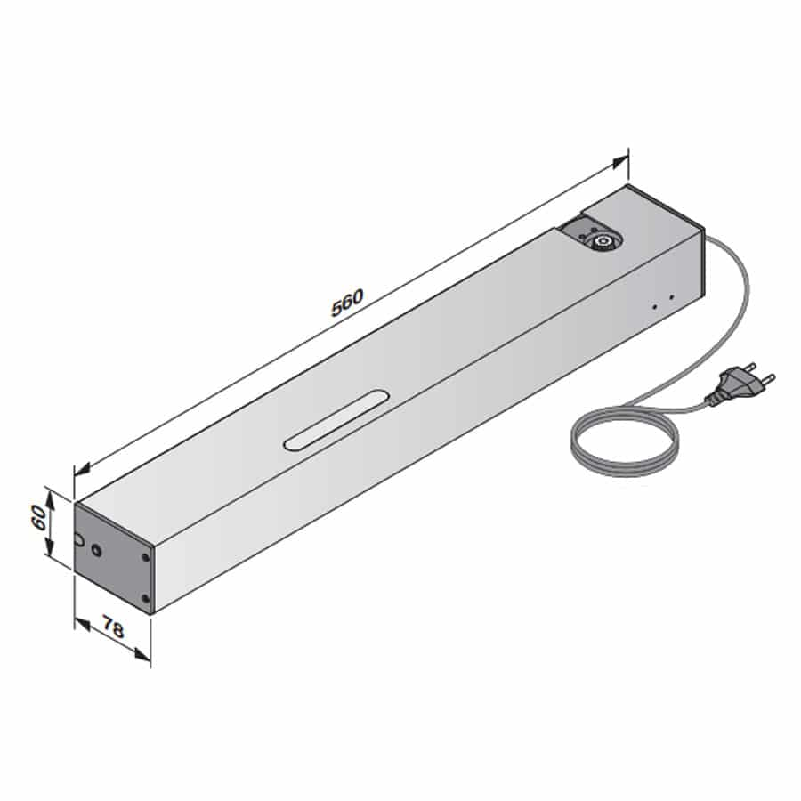 Apertura de Puertas Interiores Automáticas PortaMatic medidas