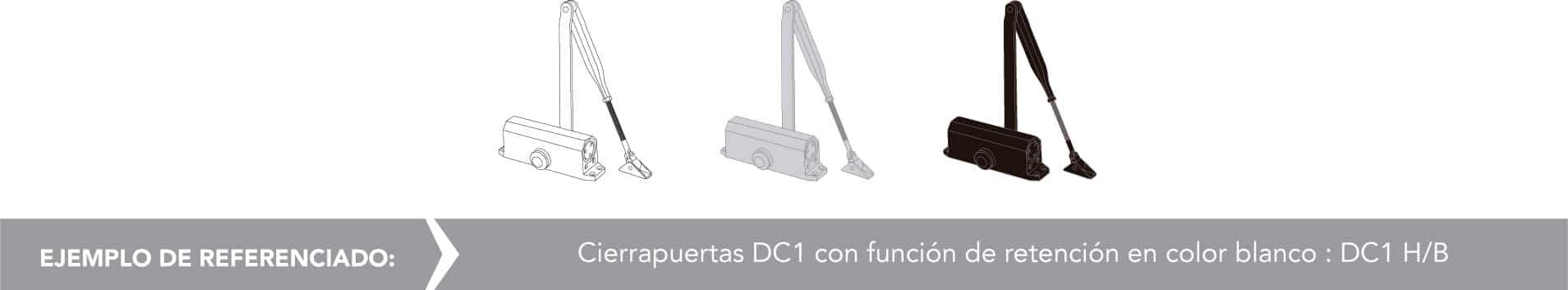 Ejemplo de referencia para DC1