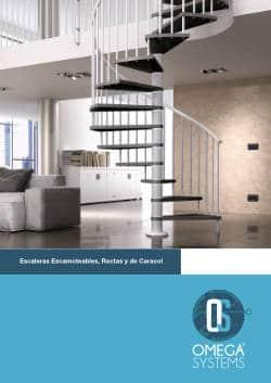 Escaleras Escamoteables Rectas y de Caracol Omega Systems 1